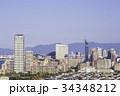 福岡 街並み 福岡タワーの写真 34348212