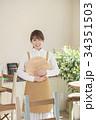 カフェ カフェ店員 喫茶店の写真 34351503
