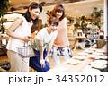 ショッピング 買い物 女性 友達 雑貨 セレクトショップ 撮影協力:TENOHA DAIKANYAM 34352012
