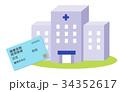 保険証と病院 34352617