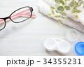 コンタクト コンタクトレンズ 眼鏡の写真 34355231