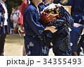 甘地獅子舞 播州の秋祭り 34355493