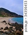野首海岸 野崎島 五島列島の写真 34356453