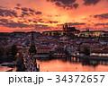 プラハ プラハ城 カレル橋の写真 34372657