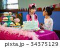 少女 混血 混合競技の写真 34375129