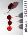 red wine glasses 34381835