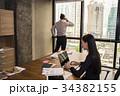 ビジネスマン オフィス テクノロジーの写真 34382155