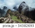 遺跡 世界遺産 雲の写真 34382693