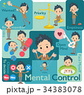 school boy Brown Blazer_Mental & volition 34383078