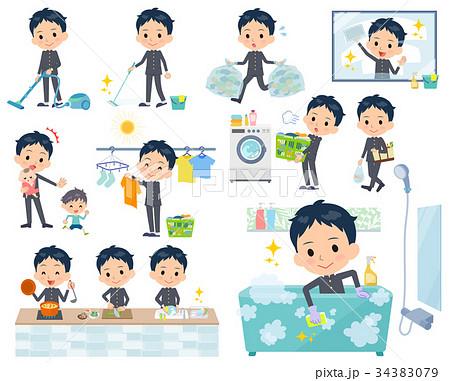 school boy gakuran_housekeeping 34383079