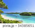 川平湾 海 石垣島の写真 34385651