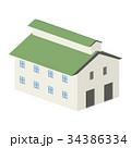 3D 建物 工場 倉庫 34386334