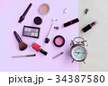Fashion stylish cosmetics, makeup accessories.  34387580