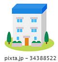 家 住宅 一戸建てのイラスト 34388522