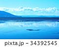 サロマ湖 湖 北海道の写真 34392545