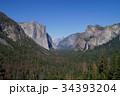 米国 ヨセミテ国立公園の風景 34393204