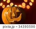 ハロウィン かぼちゃランタン 34393500