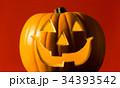 ハロウィン かぼちゃランタン 34393542
