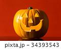 ハロウィン かぼちゃランタン 34393543