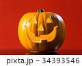 ハロウィン かぼちゃランタン 34393546