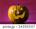ハロウィン かぼちゃランタン 34393547