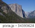 米国 ヨセミテのトンネルビューから見たエルキャピタン 34393628