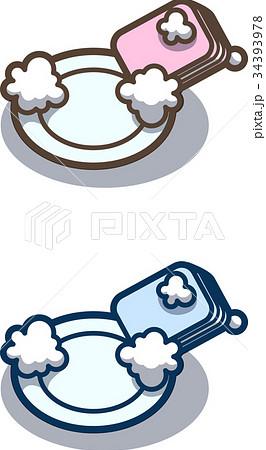 お皿洗い 34393978
