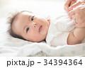 母子 母親 赤ちゃんの写真 34394364