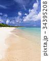 ニシハマ 海 エメラルドグリーンの写真 34395208
