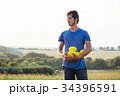メロン 農夫 農家の写真 34396591