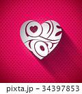 ハート ハートマーク 心臓のイラスト 34397853