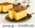 カステラ 菓子 おやつ スイーツ 焼き菓子 34399140