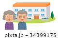 グループホームと老夫婦 34399175