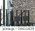 ヴィンテージ 椅子 インテリアのイラスト 34411829