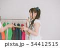 アイドル サイン 女性の写真 34412515