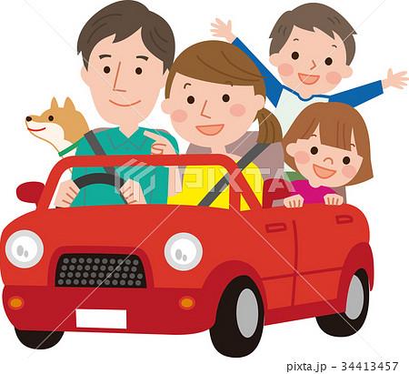 家族ドライブ 34413457
