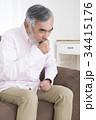 体調の悪いシニア 咳 腹痛 胃腸炎 食中毒 吐き気 34415176