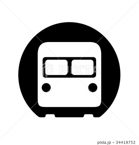 地下鉄 アイコン 34419752