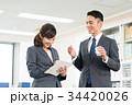 ビジネスマン ビジネスウーマン オフィスの写真 34420026