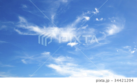 blue sky with clouds 34421204