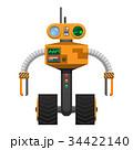 ロボット サイボーグ メカニカルのイラスト 34422140