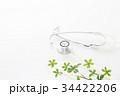 医療 聴診器 診察の写真 34422206