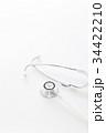医療 聴診器 診察の写真 34422210