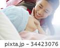 闘病中の母とお見舞いにきた小学生 34423076