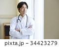 人物 男性 医師の写真 34423279