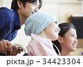 闘病を支える家族 ポートレート 34423304