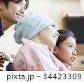 闘病を支える家族 ポートレート 34423309