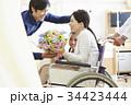 退院シーン 家族 絆 34423444
