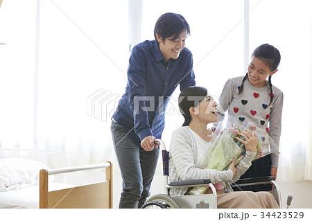 退院シーン 家族 絆 34423529