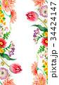 花 春 水彩のイラスト 34424147